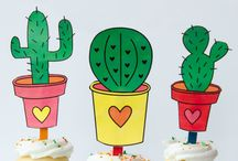Cactus Love / A collection of cactus crafts, cactus printables and cactus treats.  / by Love The Day