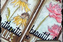 Tim Holtz Tags 2015 / 12 monthly tags by Tim Holtz
