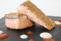 Recetas Pescado en Cecofry / Recetas de pescado en la freidora dietética Cecofry