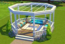 Sims 4 gardens