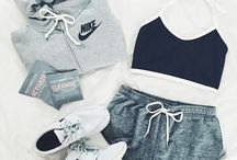 Nike outfits and shoes
