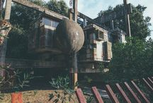opuszone budynki