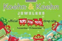 Koehn & Koehn...events, promo's and fun! / Ads and marketing pieces showing what we do best...diamonds and fun!