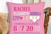 Personalized Baby Pillows & Pillowcases
