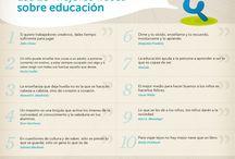 Frases célebres sobre educación / Qué es la educación para los grandes pensadores, escritores, científicos...