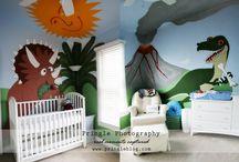 Dinosaurios / Habitaciones infantiles de Dinosaurios