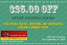 Oriental Rug Care in South Florida / Rug Cleaning, Oriental Rug Cleaning, Oriental Rug Care in South Florida