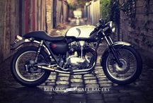 I *heart* Motorcycles / Sweet rides / by Vianessa Castaños