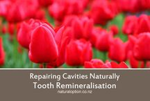 Cavities & Tooth Care / Natural Remedies and information about sensitive teeth, toothache, cavities, and tooth remineralisation