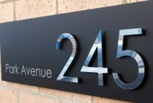 House numbers ideas