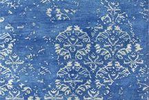 Blue rugs / by Carolyn Said