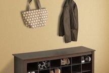 Hall Coat & Shoe Storage