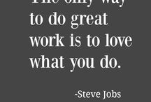 Quote about life and work