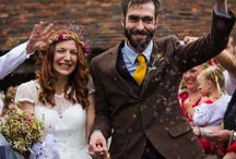 """Helen and Chris wedding confetti petals / Helen and Chris bought their dried flower petal confetti from daisyshop. Helen says """"the confetti went down really well. I packaged small handfuls which were given to guests as they arrived. Many Thanks"""""""