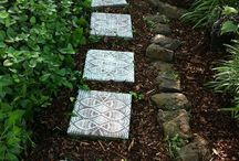 Stone paths and walkways
