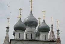 onion towers + russian churches