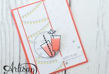 Mixed drinks / Stampin up