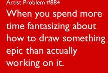 artist problems :0