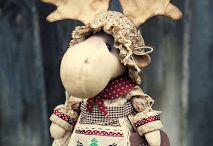 куклы - загадкины проделки