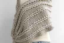 палантины, шарфы, пончо, воротнички.