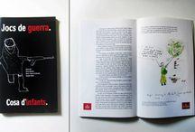 Trabajos / Aquí puedes ver algunos trabajos realizados, tanto en el campo del diseño gráfico como ilustración.