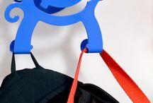Preschool Coat Hooks / Hookamals - A fun safe way to hang coats and backpacks