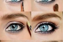 make up - blue eyes