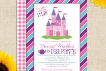 Princess bday tea party / by Amy Noon