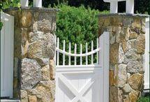 Fence/Yard ideas