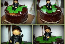 má práce / čokoládové dorty