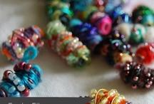 fabric beads / by Sarah Veness