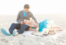 Beach Engagement Session / Engagement Sessions at the Beach