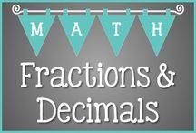 T3 Math Fractions and Decimals