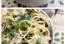 Pasta / salads / Food quick prep  / by Peggy Gallagher