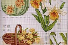 cross stitch narciso