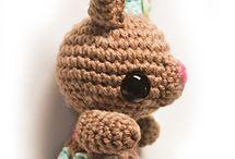 Crochet amigurumi e d / by Riki Gremmen