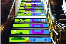 2013 SWAB STAIRS  / Una iniciativa con la colaboración de Kognitif y TMB. Damos la oportunidad a estudiantes  de diseño, de crear unos vinilos que estarán presentes  en las escaleras de acceso a 5 de las estaciones de metro  céntricas de Barcelona.  An initiative in collaboration with Kognitif and TMB. We give the opportunity to design  students, to create some vinyl that will be present  on the steps of access to five of the most central subway stations in Barcelona.