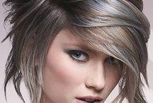 Gray hair tips