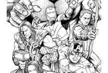 bd comics Marvel manga