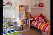 Boy/Girl Shared Room / Inspirations for a room update