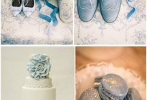 dusty blue WEDDING