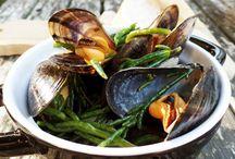 Recepten met vis, schaal- en schelpdieren / Recepten met vis, schaal- en schelpdieren die je gewoon lekker thuis in je eigen keuken kunt maken.