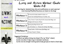"The 3rd Annual 5-Week ""Living and Active"" Challenge! / Information and inspiration from Peak313's ""Living and Active"" challenge!  / by Clare Smith"