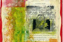 Art Journal Image Transfer