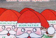 Progetto #39 / [NATALE FAI DA TE] Tutorial Babbo Natale segnaposto