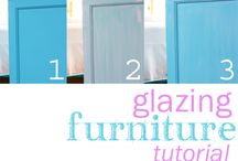 Painting Furniture Tips and Tricks / Tutorials, tips, and tricks on how to paint furniture successfully using many types of paint and methods. / by Diane Henkler {InMyOwnStyle.com}
