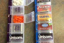 camping pack medication