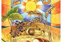 ♥ Lughnasadh ♥ / ...celebrating the first harvest of the year and recognizing that hot summer days will soon come to an end... / by Peggy Martin-Lenzing