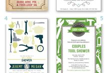 Wedding Showers / Ideas for bridal showers. Both traditional & the more popular couples showers...