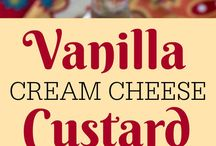 Recipes Custards